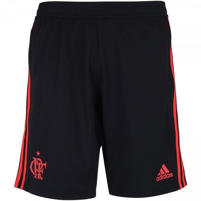 9eb417376 Short de Treino Flamengo Adidas 2018 Com Bolso