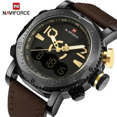 RELÓGIO NAVIFORCE BRAND BROWN