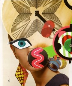 "Collage ""Twiggy"""