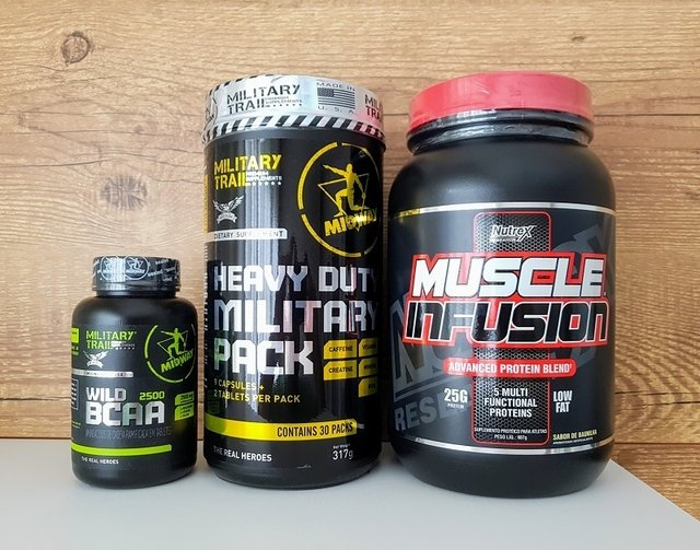 Combo Especial Muscle Infusion - Nutrex