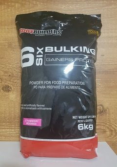 Massa Six 6 Bulking Gainers Protein c/ 6kg - Bodybuilders