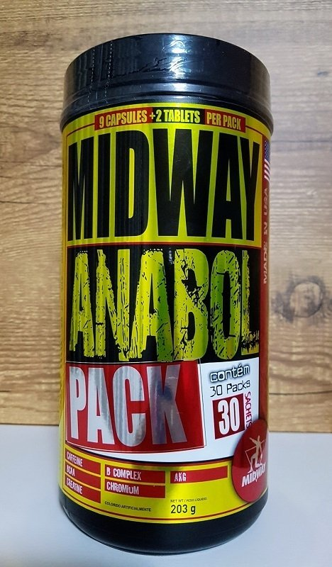 8295060f5 Anabol Pack Usa Midway Labs - 30 Packs