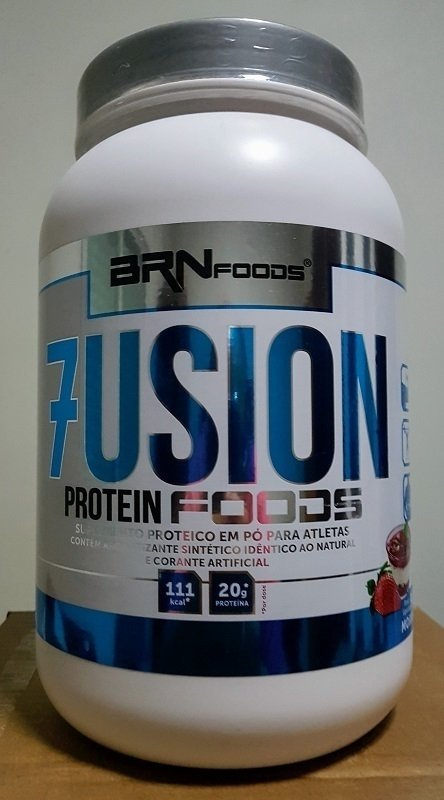 8c70fb5d77b Whey Protein Concentrado Fusion Protein Foods 900g - BRN Foods. 0% OFF