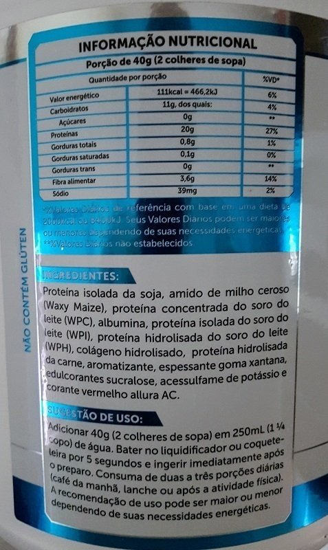 f54ce1b6a8d Whey Protein Concentrado Fusion Protein Foods 2kg - BRN Foods