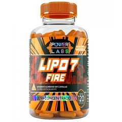LIPO 7 FIRE 120 CAPS - POWER LABS