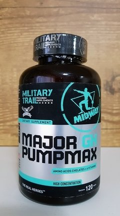 Major GH Pump Max Military Trail 120 Tabs - Midway USA