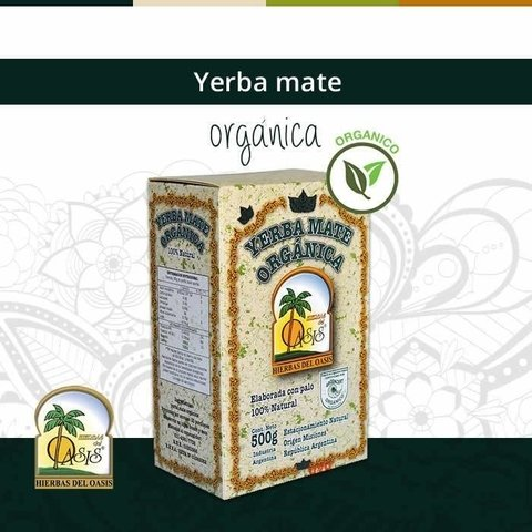 Yerba Mate Oasis Natural 500 grms