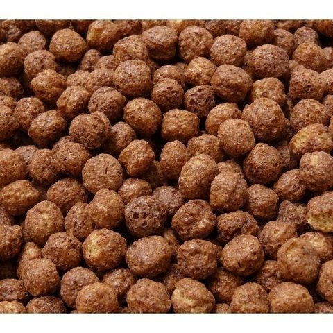 Cereal milho Flakes Choco Boll à granel