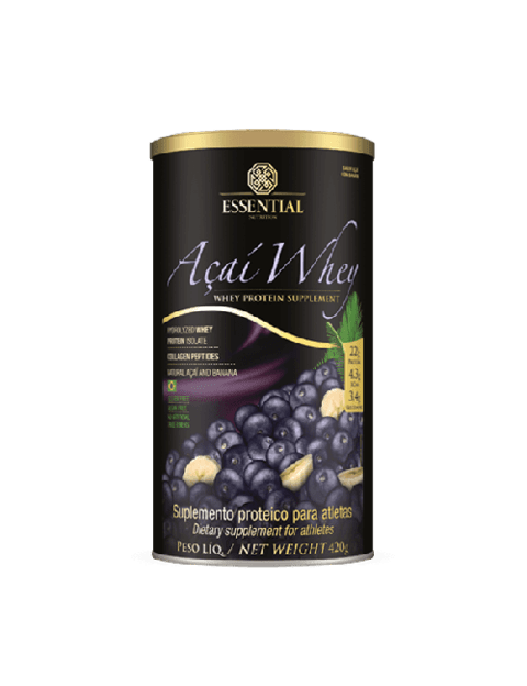 Açaí Whey  Essential Nutrition 450g