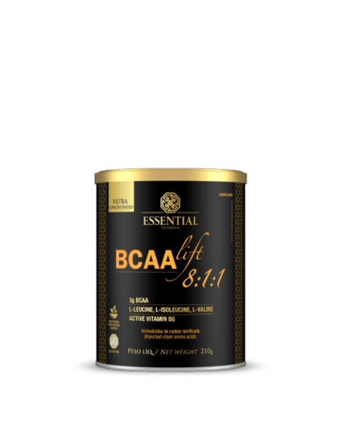 BCAA Lift 8:1:1 Essential Nutrition Sabor limão 210g