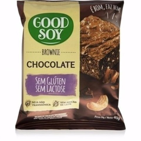 Brownie Chocolate Good Soy 40g