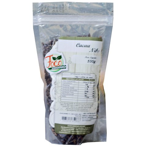 Cacau Nibs Foco Alternativo 100g