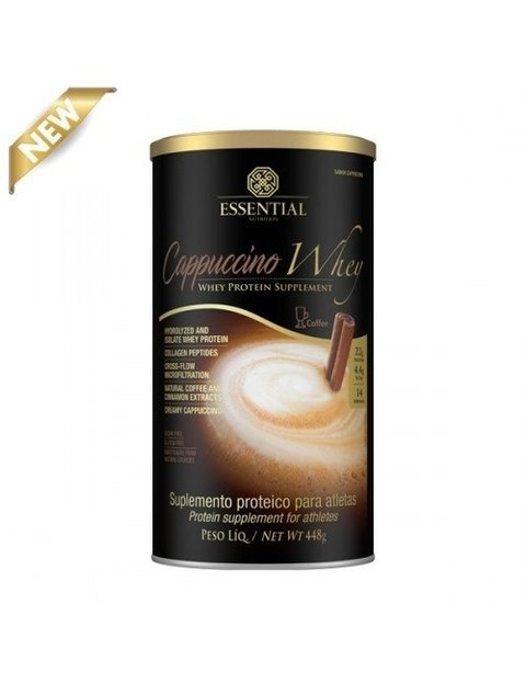Cappuccino Whey  Essential Nutrition 448g