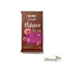 Chocolate Boa Forma Hibisco com Morango  Chocolife25 g