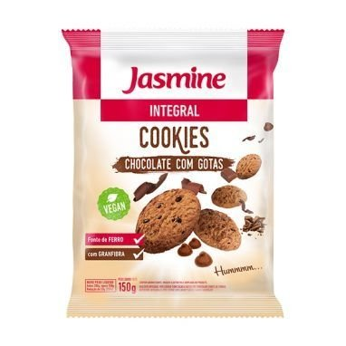 Cookies integral Castanha do Pará Jasmine 200g