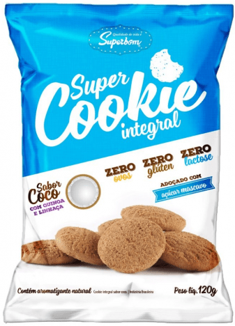 Super Cookie Integral Superbom 120g