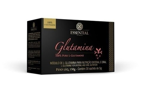 Glutamina Essential Nutrition 150g 30 sachês