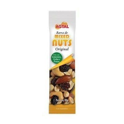 Barra de Cereais Mix Nuts Original Agtal 30g