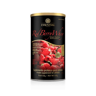 Red Berry Whey Essential Nutrition 510g
