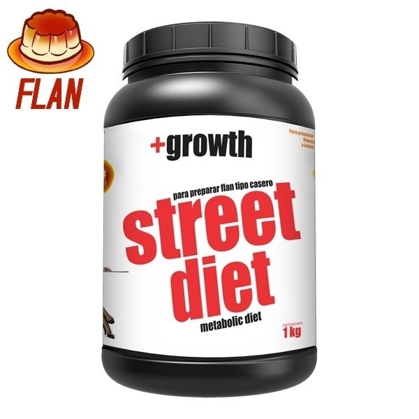 Flan Postre Proteico +Growth (1kg)