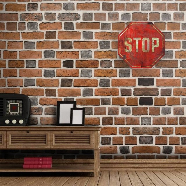 Placa Decorativa Formato - Placa Stop - WEPAK