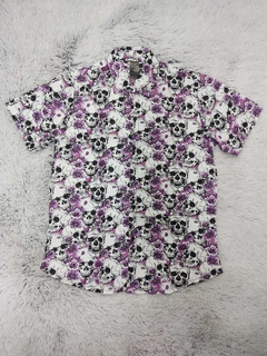 Camisa Skull Purple II