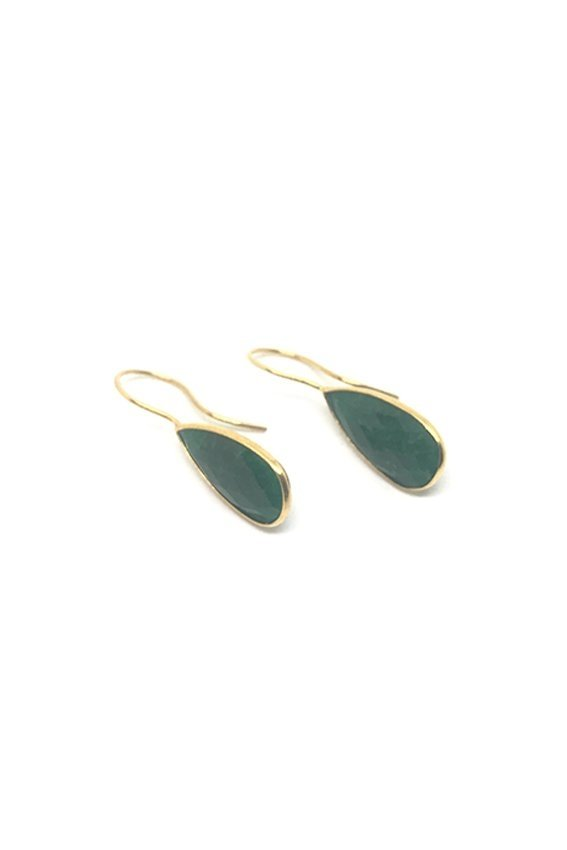 Aros CAPRI large drop verde