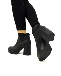 Bota Jazz Cuero Black en internet