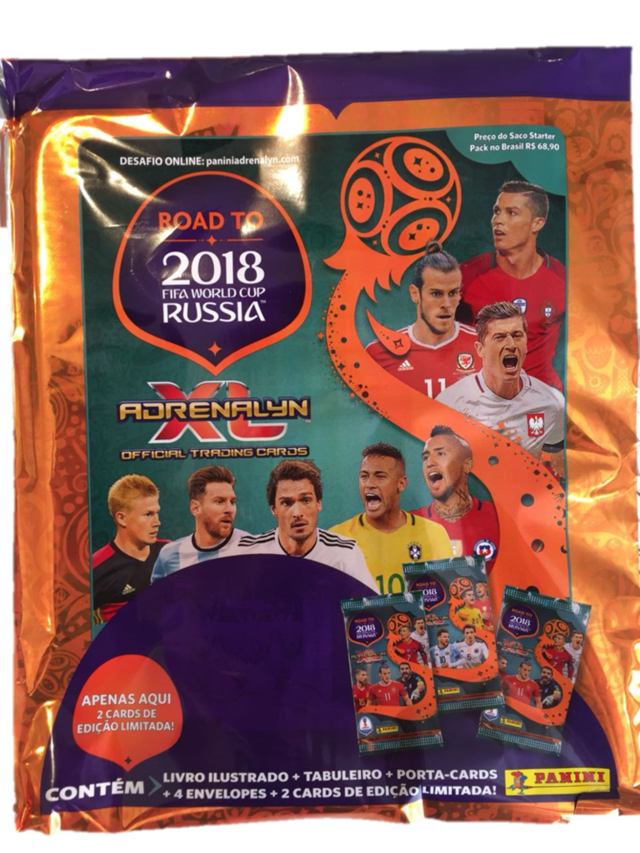 Adrenalyn XL - Road to World Cup Rússia 2018 - Starter Pack - comprar online