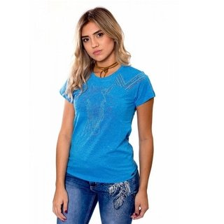 T Shirt Miss Country Feminina Tee Life