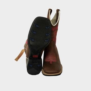 Bota Feminina Bordada Calvas 2076 - Divicountry