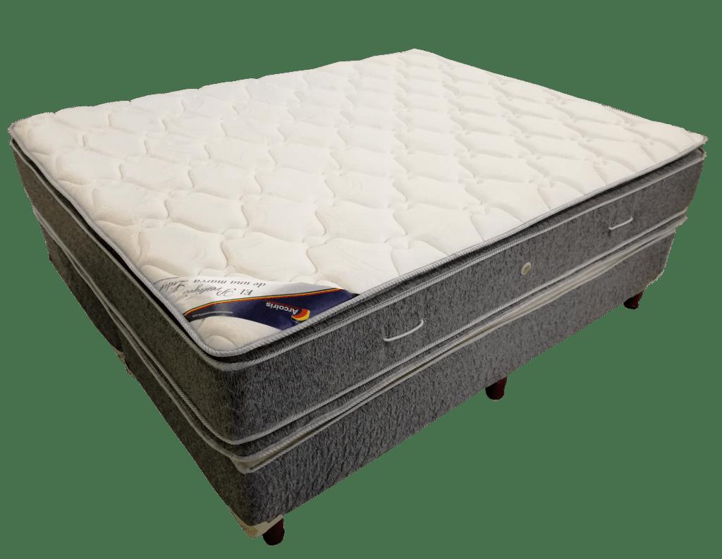 0bcf650cca4 Colchon Y Sommier Espuma Alta Densidad Max30 30kg Pillow 200x160