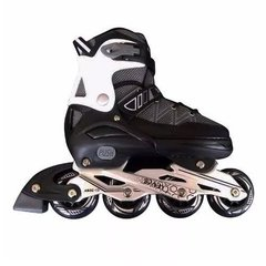 PW 130 Negro - Rollers Infantiles Extensibles