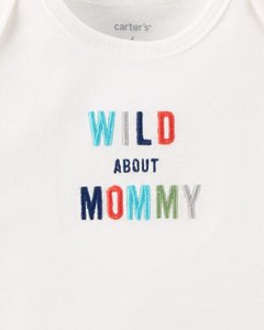 Conjunto Carter's Wild About Mommy na internet