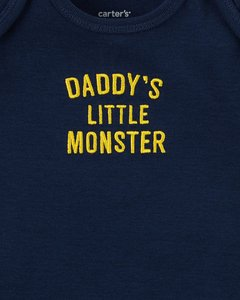 Conjunto Carter's Daddy's Little Monster na internet