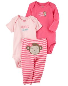 Conjunto Carter's Trio Little Sweet Heart - comprar online