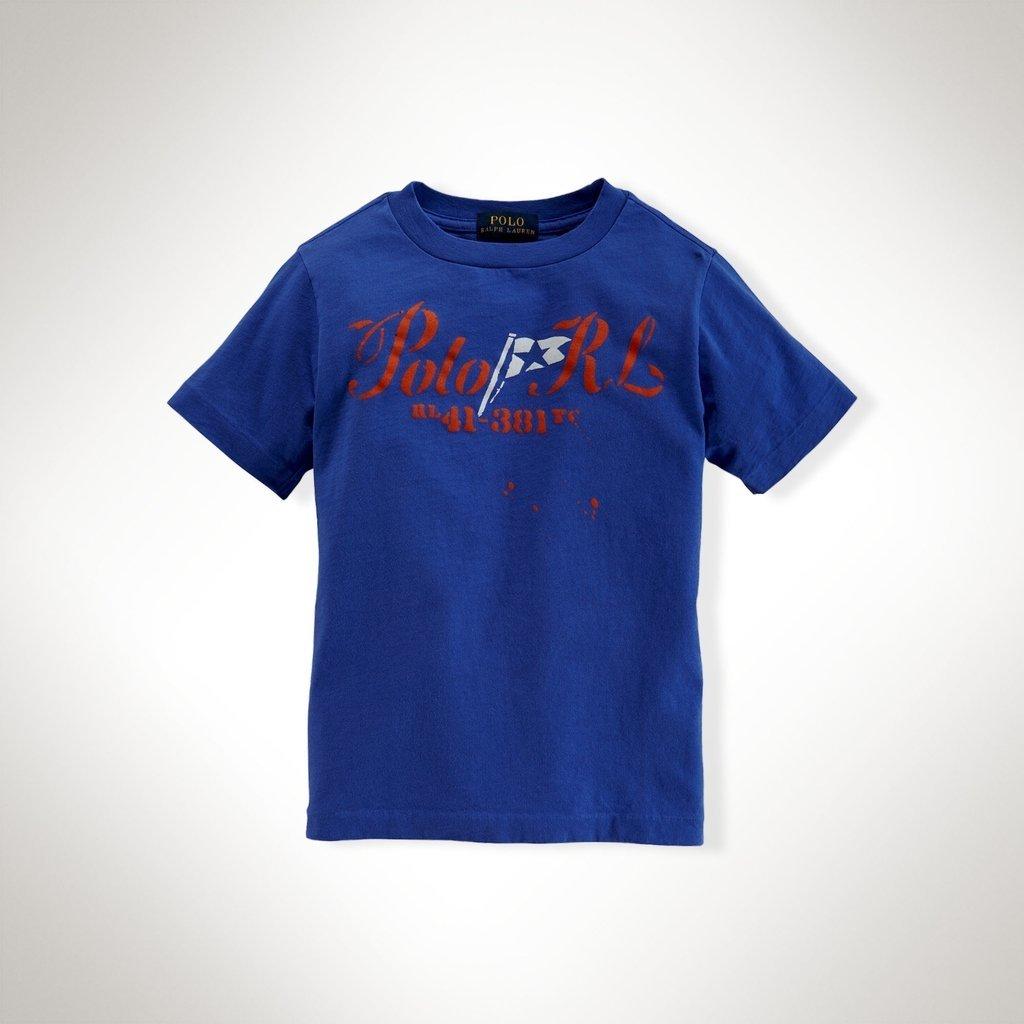 deb38548441bb Camiseta Ralph Lauren manga curta Azul RL41-381 - comprar online