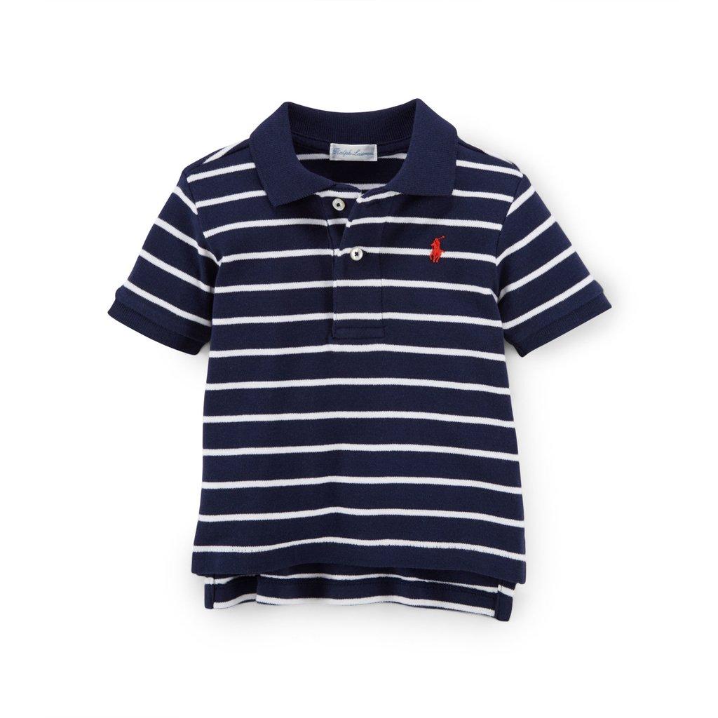 de48cd0793fd5 Camisa Polo Ralph Lauren Marinho - Pima Cotton - comprar online