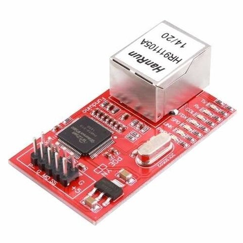 Mini Ethernet Shield W5100 Comp Arduino Uno Mega Due Mona