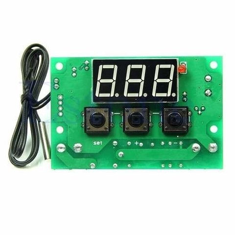 Modulo Termostato Digital Programable Con Display W1401 Mona