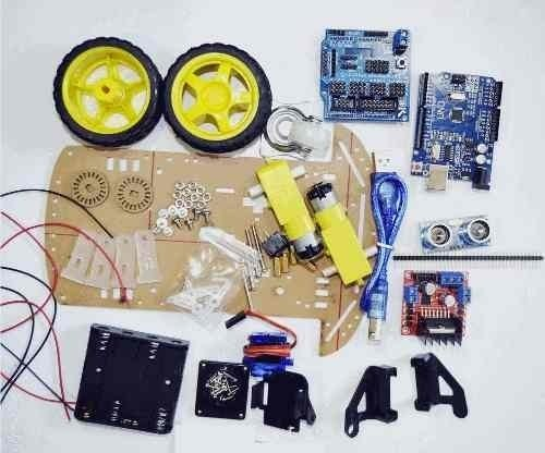 Kit Auto Robot Smart Car 2 Ruedas Motor Arduino Mona