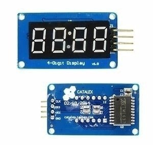 Modulo Display 4 Digitos Controlador Tm1637 Arduino Mona en internet