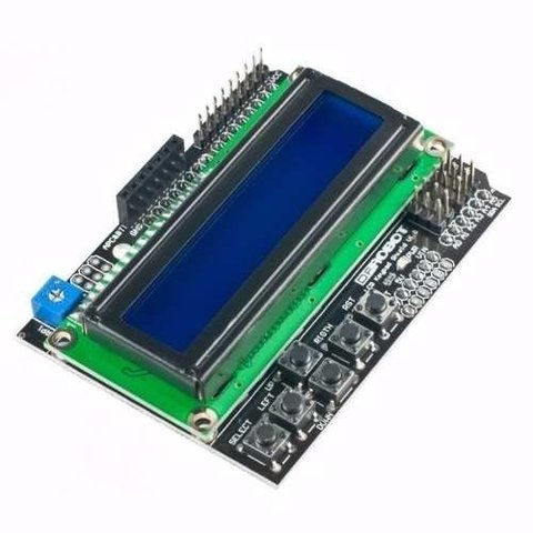 Display Lcd 1602 Botonera Teclado Arduino Shield Mona