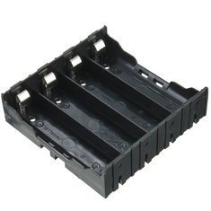 Porta Bateria Holder 18650 X4 3,7v Mona