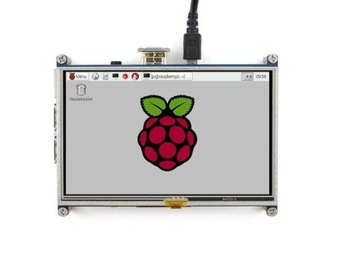 Lcd Touch 5'' Hdmi Raspberry Pi Pantalla Tactil Mona