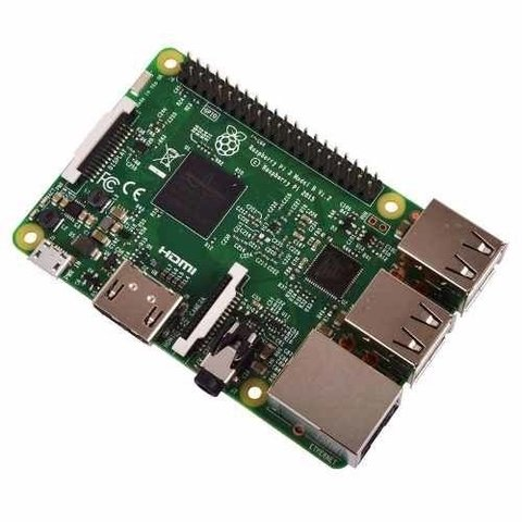 Raspberry Pi 3 B 1.2ghz Quad Core 1gb Wifi Bluetooth Mona