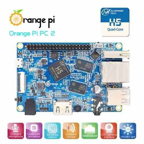 Mini Pc Orange Pi Lite Quadcore 1.2 Ghz Wifi 1gb Ddr3 Mona en internet