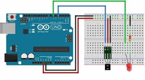 Sensor Hall Digital Switch Ky-003 44e Arduino Mona en internet