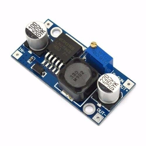 Módulo Lm2596 Step-down Dc-dc In 4-40v, 3a Máx Mona