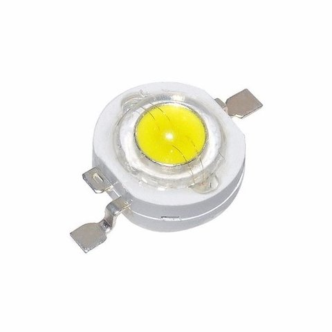 10 Led 3w Alta Potencia Luminosidad Colores 3 Watts Mona